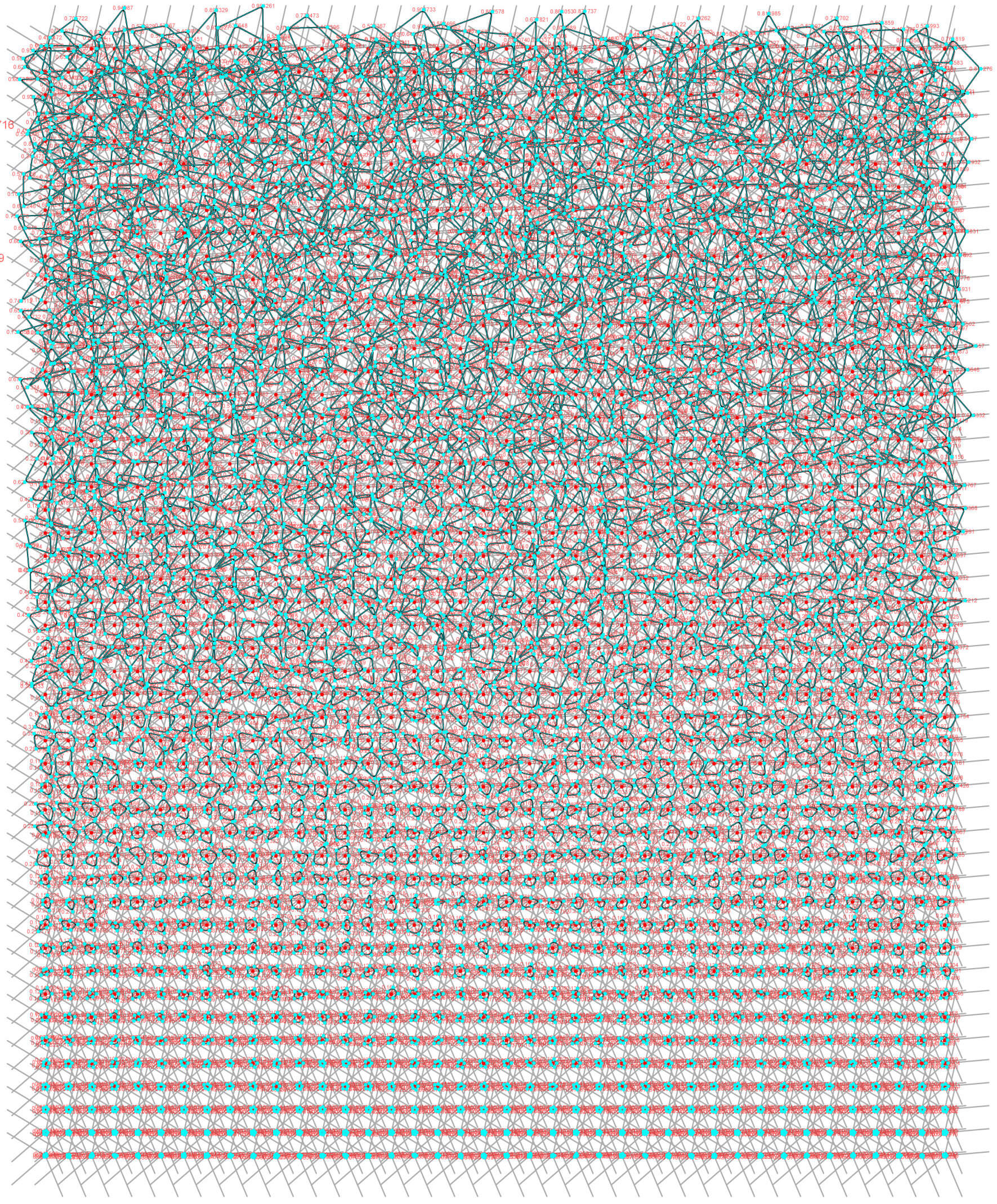 Algorithmic Fritting Art
